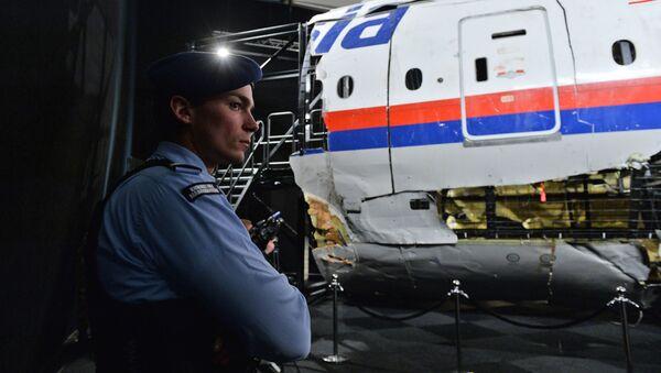 Prezentacja raportu na temat okoliczności katastrofy samolotu Boeing 777 Malaysia Airlines na wschodzie Ukrainy - Sputnik Polska