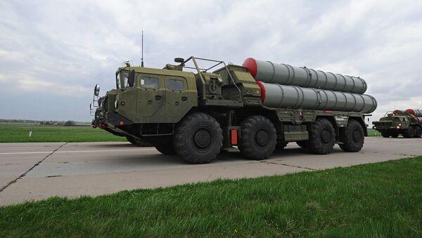 Przeciwlotniczy system rakietowy S-400 - Sputnik Polska