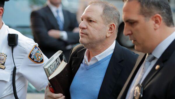 Hollywoodzki producent filmowy Harvey Weinstein - Sputnik Polska