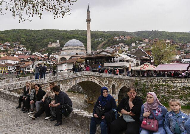 Most kamienny w Prizrenie, Kosowo