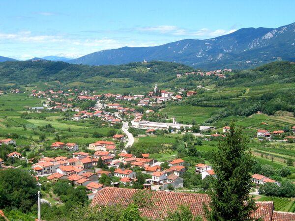 Wieś Branik, Słowenia - Sputnik Polska