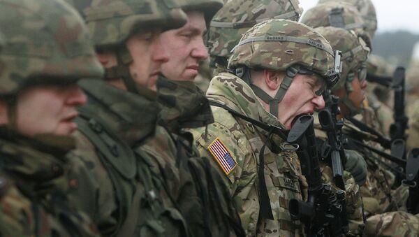 Polscy i amerykańscy żołnierze w Polsce - Sputnik Polska