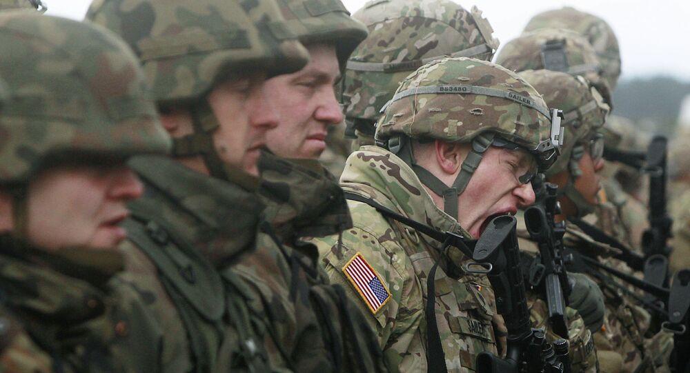 Polscy i amerykańscy żołnierze w Polsce