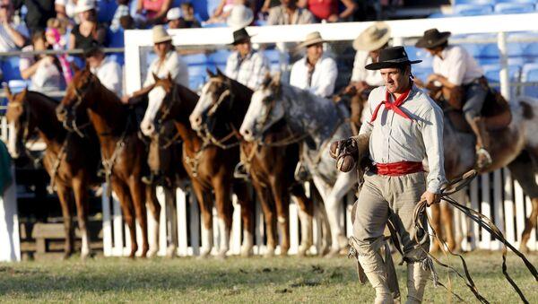 Rodeo w Montevideo - Sputnik Polska