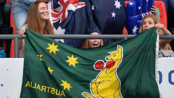 Australijscy kibice - Sputnik Polska