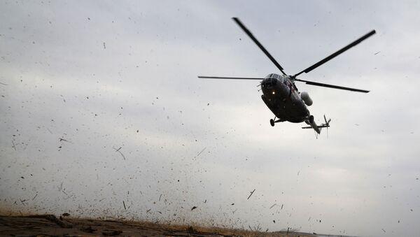 Śmigłowiec MSN Mi-8. Zdjęcie archiwalne - Sputnik Polska