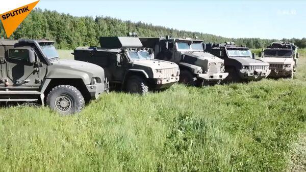 Dzień Żołnierza Wojsk Samochodowych - Sputnik Polska