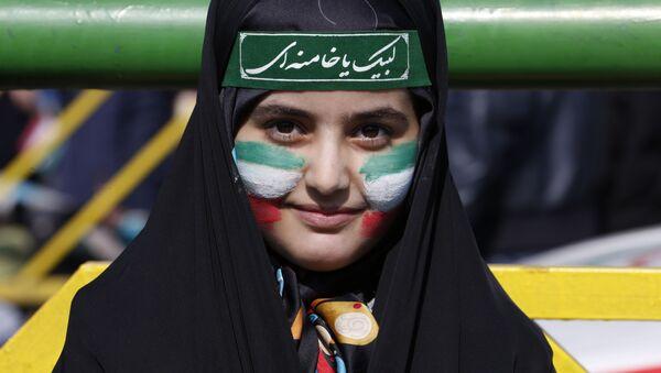 Obchody 39. rocznicy rewolucji islamskiej w Teheranie - Sputnik Polska