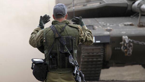 Izraelscy żołnierze na Wzgórzach Golan - Sputnik Polska
