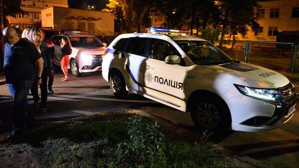 Policja pod domem zabitego Arkadija Babczenki - Sputnik Polska