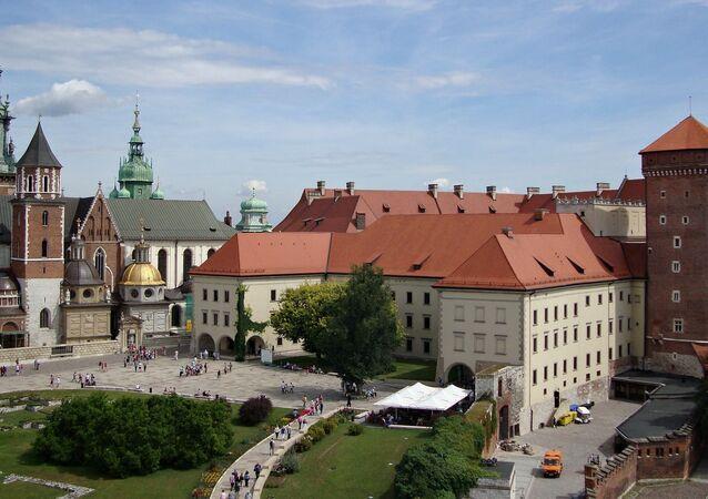 Widok na Wawel, Kraków