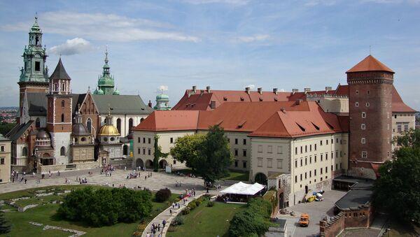 Widok na Wawel, Kraków - Sputnik Polska