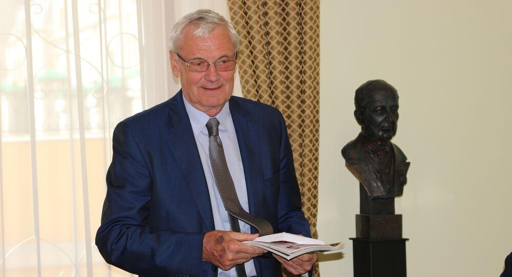 Leonid Draczewski, dyrektor Fundacji Wspierania Dyplomacji Publicznej im. Aleksandra Gorczakowa. Moskwa.