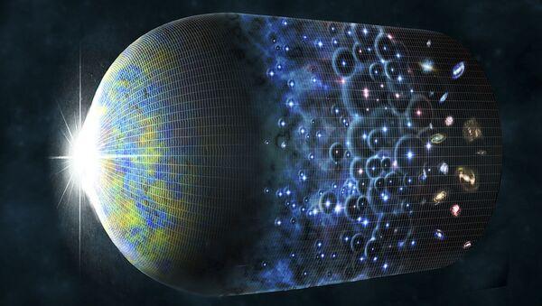 Artystyczna wizualizacja ewolucji Wszechświata i powstania echa Wielkiego Wybuchu - Sputnik Polska