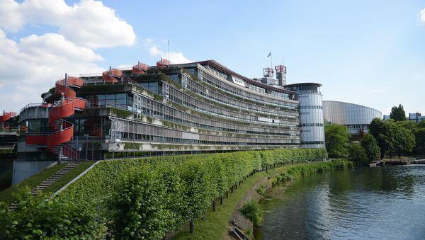 Budynek Europejskiego Trybunału Praw Człowieka w Strasburgu - Sputnik Polska