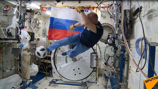 Mundialowa gorączka w kosmosie - Sputnik Polska