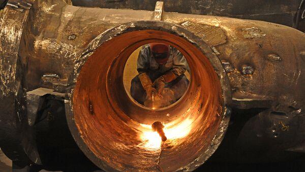 Produkcja stali - Sputnik Polska
