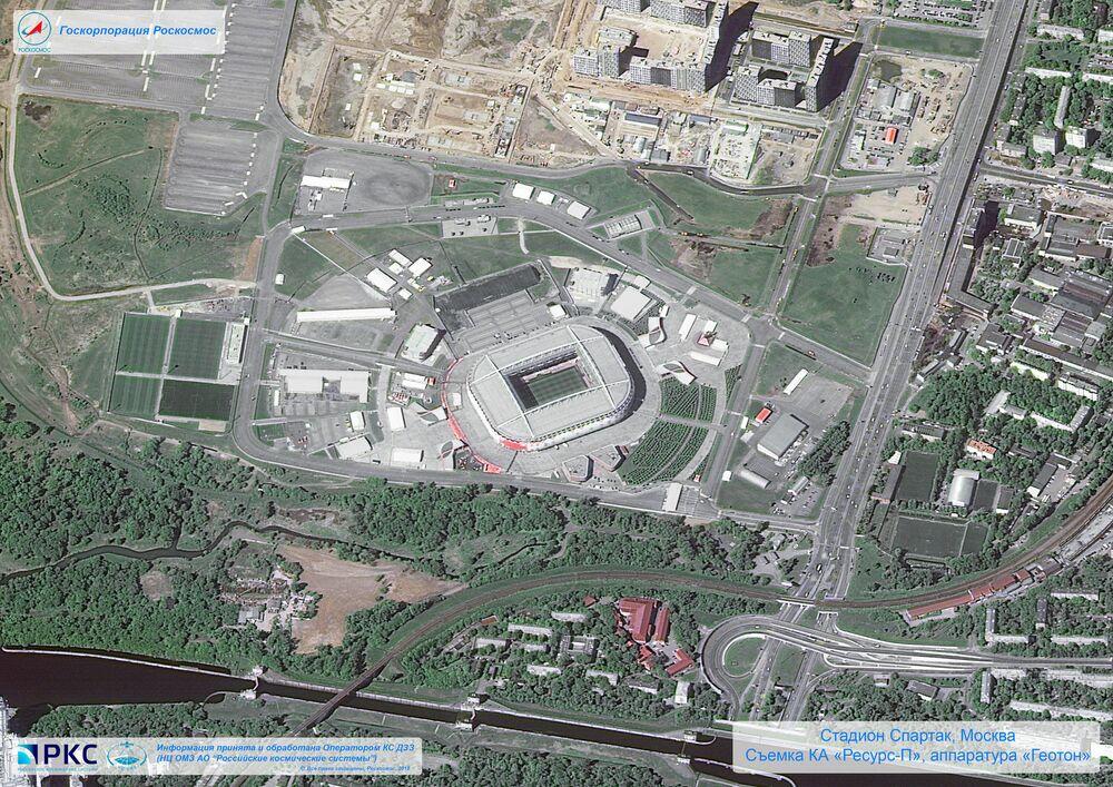 Spartak Ariena stadion w Moskwie
