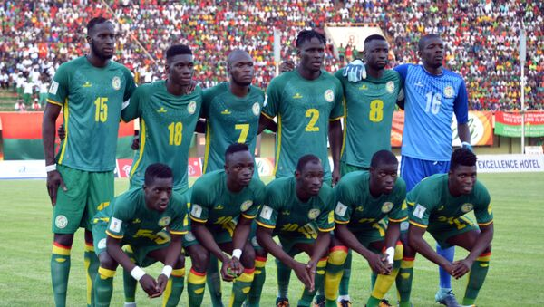 Piłkarze z Senegalu - Sputnik Polska