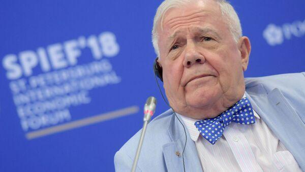 Przewodniczący Rogers Holding Company Jim Rogers - Sputnik Polska