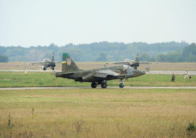 Su-25 ukraińskich sił powietrznych