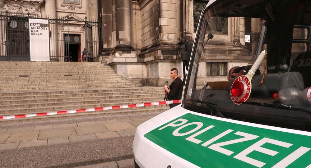 Dwie osoby zostały ranne w strzelaninie w Katedrze w Berlinie
