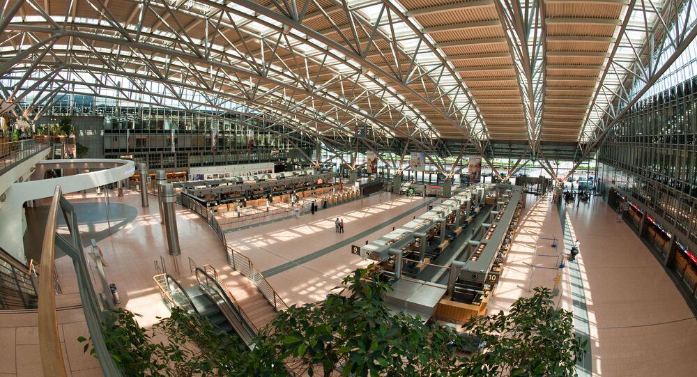 Terminal 2 portu lotniczego w Hamburgu