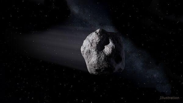 Artystyczne wyobrażenie asteroidy okołoziemskiej - Sputnik Polska