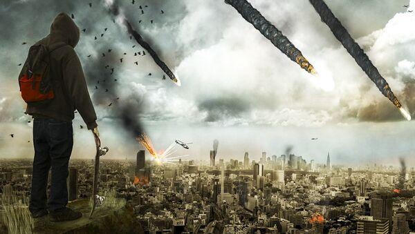 Artystyczne przedstawienie apokalipsy - Sputnik Polska