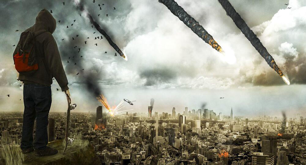 Artystyczne przedstawienie apokalipsy