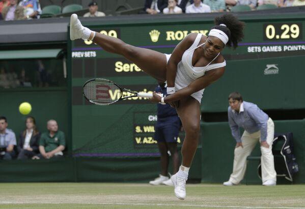 Amerykańska tenisistka Serena Williams - Sputnik Polska