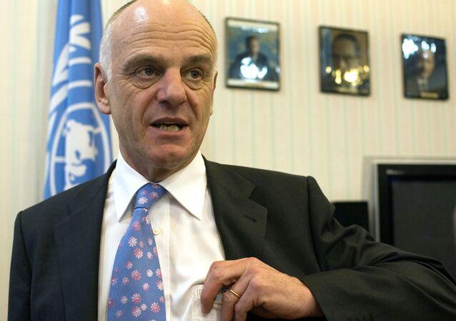 Specjalny wysłannik sekretarza generalnego ONZ do walki z wirusem Ebola David Nabarro