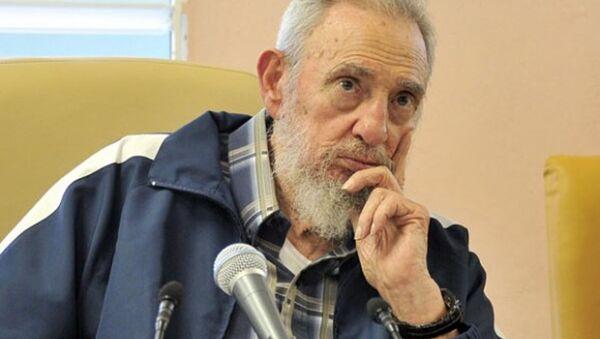 Były prezydent Kuby Fidel Castro - Sputnik Polska