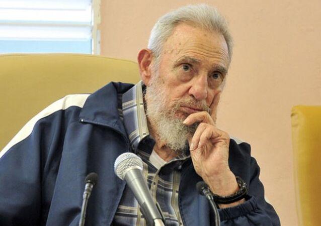 Były prezydent Kuby Fidel Castro