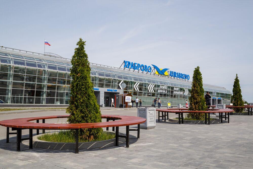 Lotnisko Chrabrowo w Kalinigradzie