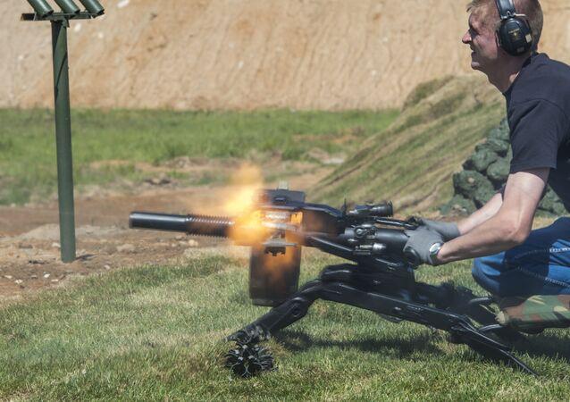 Granatnik AGS-40 Bałkan