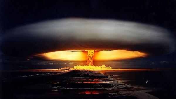 Atomic bomb explosion - Sputnik Polska