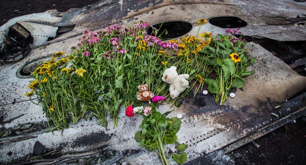 Szczątki malezyjskiego boeinga MH17