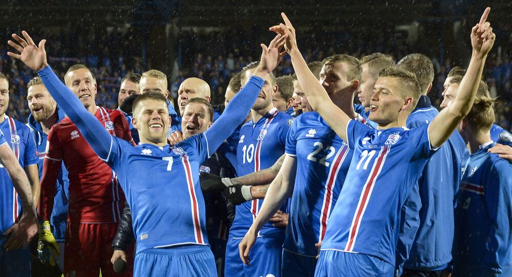 Reprezentacja Islandii