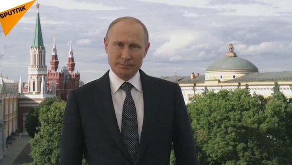 Putin zaprasza na MŚ w Rosji - Sputnik Polska