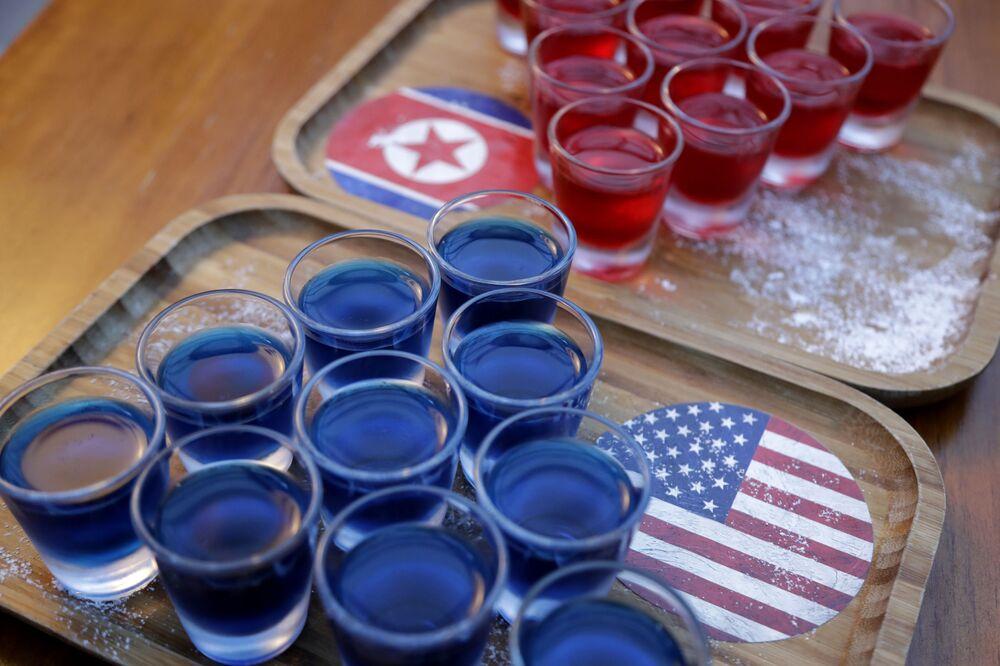 Koktajle z okazji spotkania Trumpa i Kim Dzong Una