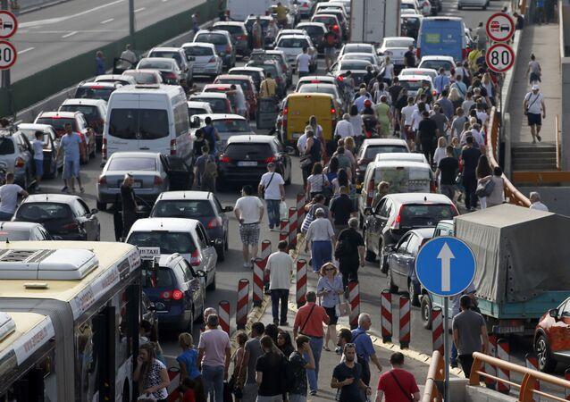 Protesty kierowców