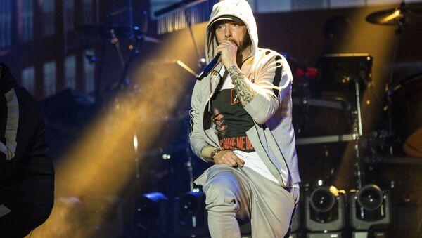 Wystąpienie rapera Eminema na festiwalu Bonnaroo w USA - Sputnik Polska