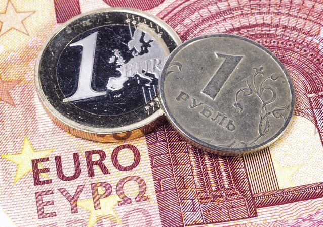 Euro i rubel