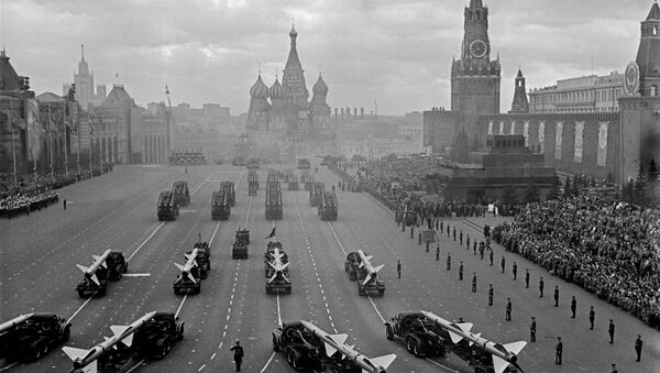 Moskwa, Plac Czerowny, 1964 rok - Sputnik Polska