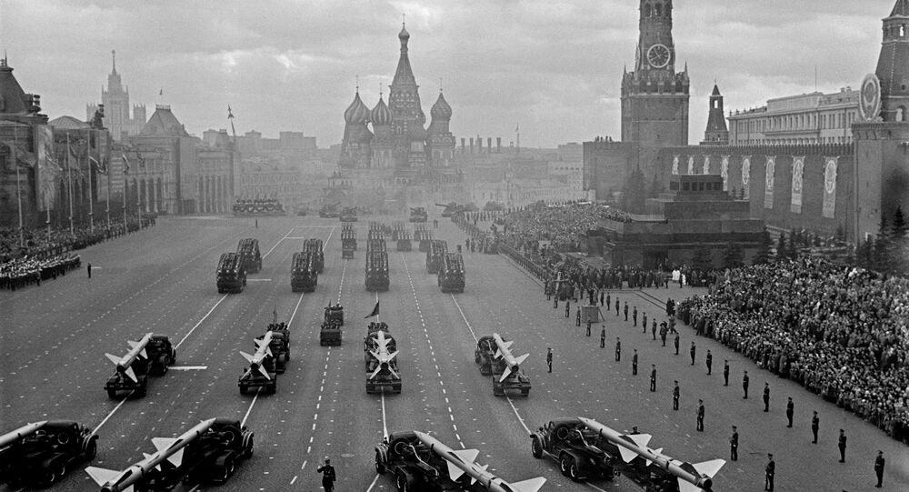 Moskwa, Plac Czerowny, 1964 rok