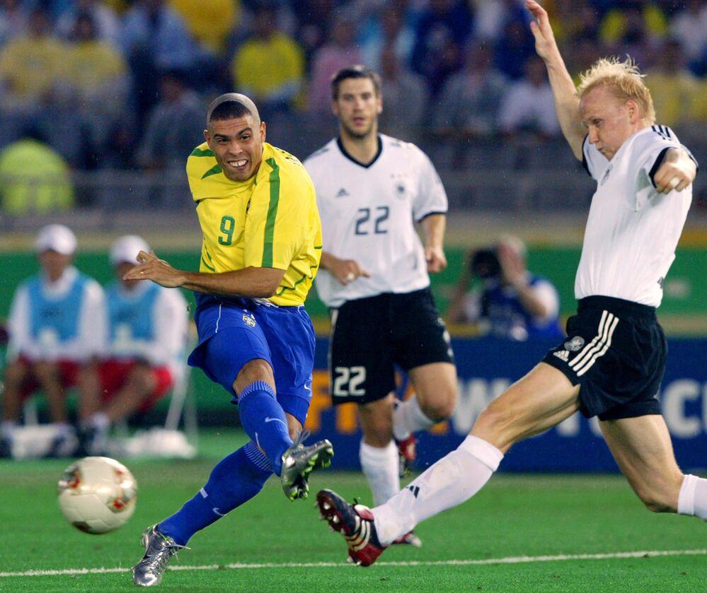 Finałowy mecz Niemiec z Brazylią, 2002 rok
