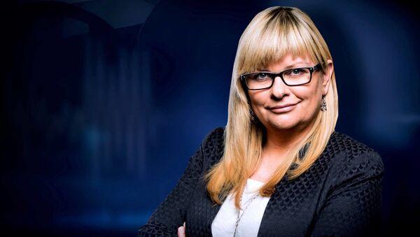 Польская публицистка Анита Гаргас - Sputnik Polska
