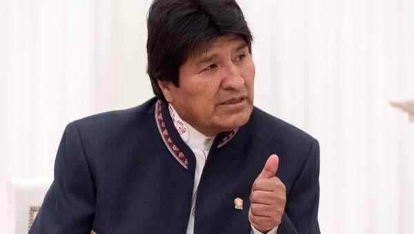 Evo Morales - Sputnik Polska