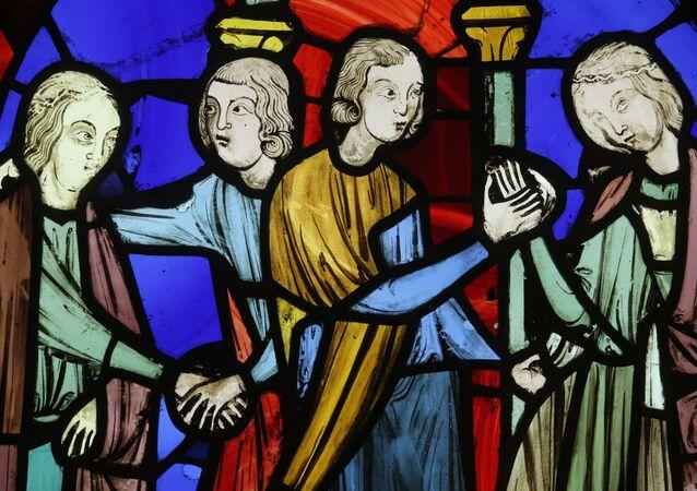 Witraż XIII wieku